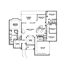 2500 Sq Ft Floor Plans by 2500 Sq Foot Ranch House Plans House Plans