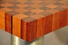 block wood tigerwood and cherry end grain butcher block wood countertop