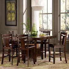 Homelegance Broome Piece Counter Height Expandable Storage - Counter height kitchen table with storage
