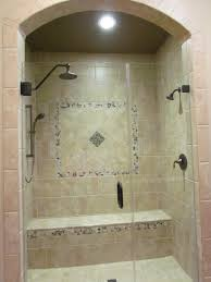 Walk In Shower Dal Tile CV  Laid In Brick Pattern With X - Daltile backsplash