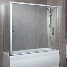 bathroom barn door bathroom privacy frameless bathtub doors