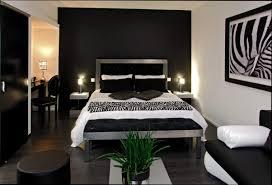 chambre blanc et noir deco de chambre noir et blanc