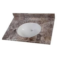 Home Decorators Bathroom Vanities Home Decorators Collection 49 In Stone Effects Vanity Top In