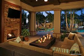 florida room designs pool tropical with outdoor fireplace outdoor