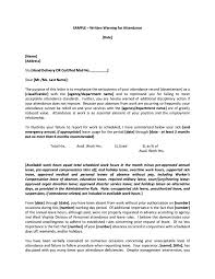 Certified Mail Letter Template 9 Disciplinary Warning Letters Free Samples Examples Download
