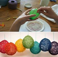 Diy Easter Hanging Decorations by Best 20 Yarn Balloon Ideas On Pinterest U2014no Signup Required
