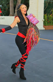 ninja costume for halloween hudson ninja for a halloween party in malibu october 2015