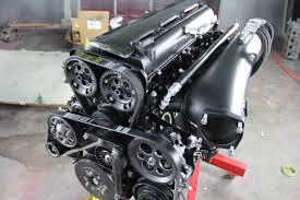 custom supra engine 2jz gte intake manifold fuel rail