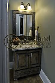 Empire Bathroom Vanities by Half Bath Vanity Built From Maple And Has A Dark Coffee Glaze