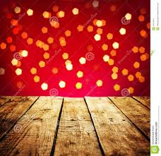 Wooden Table Background Vector Christmas Background With Wood Table In Perspective Stock Photo
