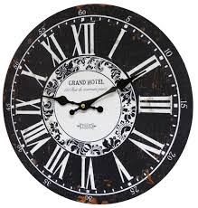 pendule cuisine horloge murale pendule ronde de cuisine ou salon en bois et papier