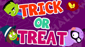 halloween trick or treat original scary halloween song by booya