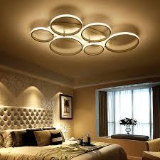 plafonnier chambre simple acrylique salon led plafonnier creative décoration de la