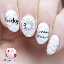 piggieluv friday nail art