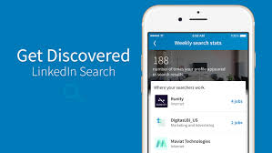 search looking for your next job opportunity get found via linkedin