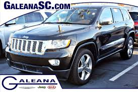 certified used 2012 jeep grand cherokee overland summit in