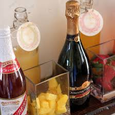 mimosa bar how to and shopping list
