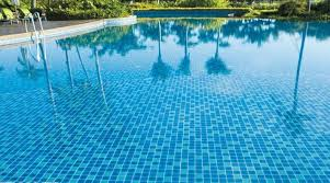 Pool Bathroom Online Cheap Glass Mosaic Tile Pool Mosaic Sky Blue Color Mosaic