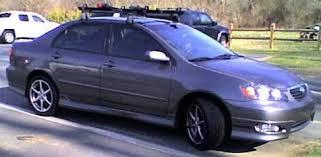 2010 toyota corolla roof rack bike rack ed toyota corolla roof mount bike rack