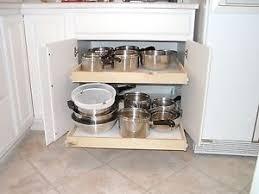 Slide Out Shelves by Pull Out Shelves Home U0026 Garden Ebay