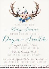 boho baby shower invitation woodland boy baby shower invitation