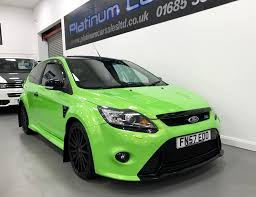 used ford focus st rs replica green 2 5 hatchback merthyr