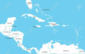Caribbean Map by Map Of Caribbean Islands Stock Photo Picture And Royalty Free