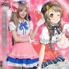 carnevale costumes anime live costume minami kotori for woman girl