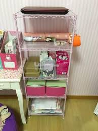5 Tier Wire Shelving by Pink 5 Tier Wire Shelving Rack Metal End 5 4 2017 2 15 Pm