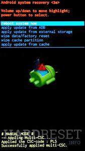 reset factory samsung s3 mini samsung i8190 galaxy s iii mini recovery mode hardreset info