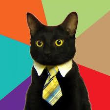 Meme Generator Blank - business cat blank meme template imgflip