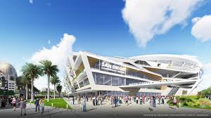 first look at proposed stadium and convention center los angeles