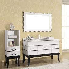 White Wood Free Standing Bathroom Storage Cabinet Unit by Furniture White Wooden Tall Free Standing Bathroom Cabinets With Open