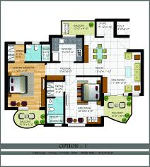 2 Bhk Floor Plans 2 U0026 2 1 Bhk Flats In Zirakpur 2 Bhk Flats Chandigarh 2 Bhk Flats
