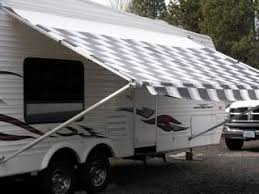 Toy Hauler Awning Best 25 Rv Awning Replacement Ideas On Pinterest Travel Trailer