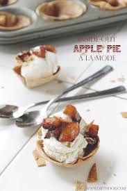 cuisine a la mode inside out apple pie a la mode diethood