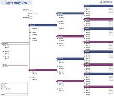 free family tree template for excel organization ideas