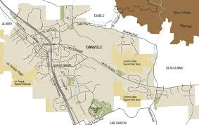 Zip Code Map San Jose by Danville California Map California Map