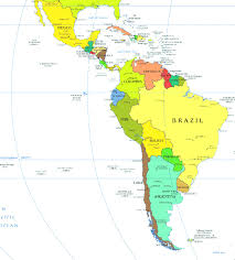 South America Map Labeled by The Countries In Latin America Are Brazil Colombia Boliva Map And