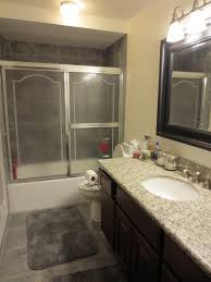 Regular Curtains As Shower Curtains Make Bake And Love Quick Bathroom Update