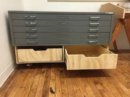 Wood Flat File Cabinet Flat File Base 3 Steps With Pictures