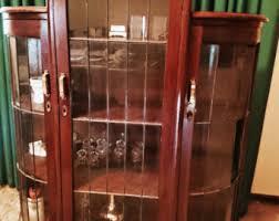 Art Deco Round Display Cabinet Art Deco Furniture Etsy