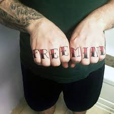 top 100 best knuckle tattoos for a of ideas