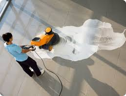 los angeles floor waxing and buffing floor care