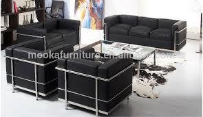 canapé le corbusier lc2 le corbusier lc2 canapé d angle en cuir l canapé mkl05l buy
