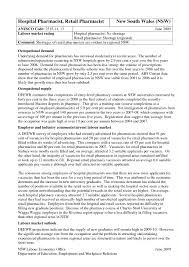 Resume Examples For Pharmacists by Examples Of Resumes Radiography Professional Resume Eager World