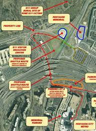 pentagon map virginia tranferring land to pentagon 9 11 memorial