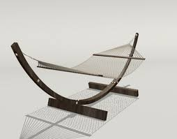modern style hammock download 3d model crazy 3ds max free