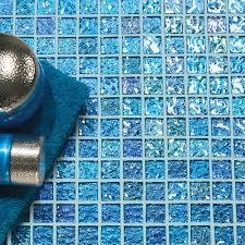 original style mantra crystal blue mosaic sheet 32 7x32 7x0 3cm
