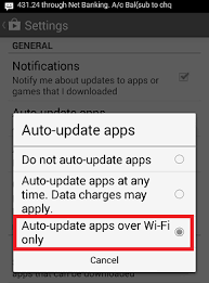how to turn auto update on android how to disable auto update of application in android phone